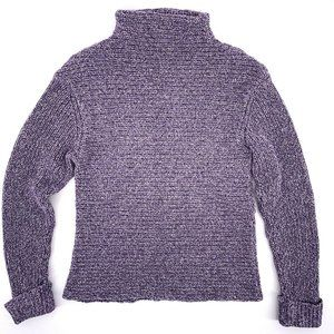 Royal Robbins Mock Turtle Neck Purple Sweater